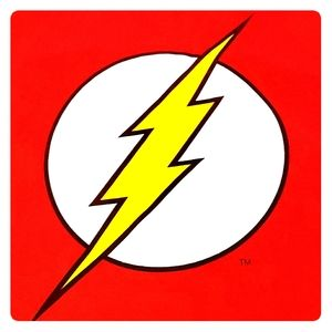 DC COMICS ORIGINALS The Flash Red Tee Shirt